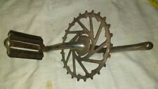 vintage bicycle chain Ring and one petal parts