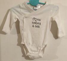 Baby Girls H&M Long Sleeved Vest Age 1-2 Months