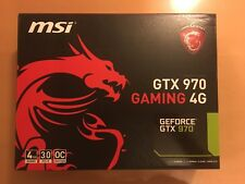 MSI GTX 970 GAMING 4G Geforce Graphics Card