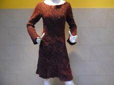 CORAKEMPERMAN jolie robe 55% laine taille S