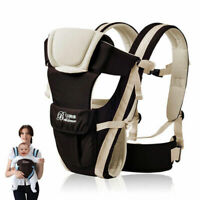 Ergonomic Adjustable Infant Baby Carrier Wrap Sling Newborn Backpack Breathable