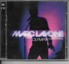 2 CD ALBUM LIVE 21 TITRES--MARC LAVOINE--LIVE A L'OLYMPIA 2003