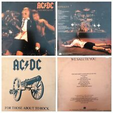 AC / DC ALBUMS VINYLS LP RECORDS (Auction#37)  $22/each HEAVY METAL