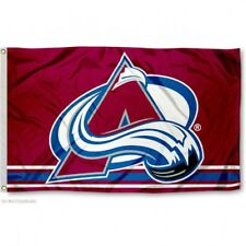 COLORADO AVALANCHE FLAG 3'X5' NHL LOGO BANNER: FAST FREE SHIPPING