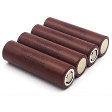 4 LG HG2 18650 HIGH DRAIN 3000mAh 20A Rechargeable Lithium Ion Vape Battery SMOK