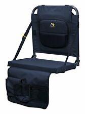 BleacherBack Lumbar Stadium Seat w/ Padded Backrest Multi-purpose & Comfortable