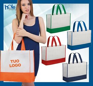Shopper in TNT personalizzate Shopping Bag personalizzata Gadget Aziendali 1