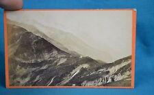 1870s CDV Photo Carte De Visite Mont Blanc Switzerland Suisse