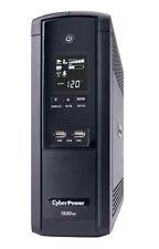 CyberPower Intelligent LCD Series BRG1500AVRLCD 1500 VA 900 Watts 12 Outlets UPS