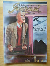 ROLLS ROYCE Dealer Journal brochure for Sales Staff - 1979 Edition No 14