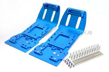 2 Front Rear Skid Plate fits HPI SAVAGE 21 25 3.5 4.6 SS X XL