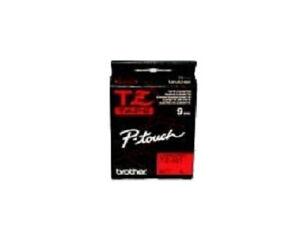 Original Brother TZ-421 8 m Tape 9 mm Band für P-Touch, schwarz auf rot NEU OVP
