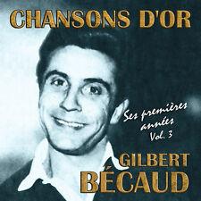 CD Chansons d'or : Gilbert Bécaud - Vol. 3