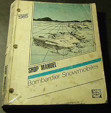 1985 Bombardier Ski-Doo Snowmobile Shop Manual (821)