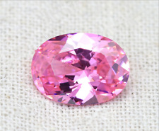 Pink Sapphire 4.56ct 8x10mm Oval Faceted Cut AAAAA VVS Loose Gemstone