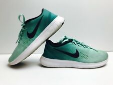 Nike Free RN Women's Running Shoes 831509 300 Size 6 Turquoise Teal EUC