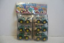 Mexican Military Truck Set - Plastic toy Car Made In Mexico