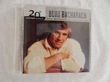 "Burt Bacharach ""20th Century Masters"" BRAND NEW PROMO CD! NEVER PLAYED!"