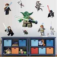 Lego Star Wars 3D Calcomanía Pared Adhesivo Decoración Habitación Vinilo Mural Niños Reino Unido