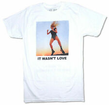Lady Gaga-It Wasn't Love-Large White T-shirt