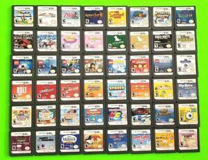 Nintendo DS Games Lot ~ Pick/Choose Scroll Menu ~ Mario Zelda Disney Lego Sims