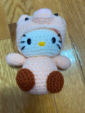 Hello Kitty in Pig Costume Amigurumi Plush (Handmade)