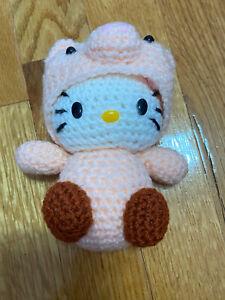Hello Kitty in Pig Costume Amigurumi Plush (Handmade)