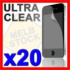 20x Ultra Crystal Clear Screen Protector LCD Guard Film for Apple iPhone 4S 4 S