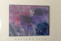"MONUMENTAL! ABSTRACT MODERN OIL PAINTING! "" MALIBU MORNING""  VTG ORIG. ART 60'S"