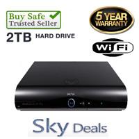 Sky+ HD Box Amstrad DRX895W 2tb PVR6 - 2017 VERSION 3D READY WIFI