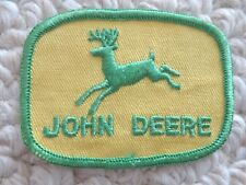 Vintage John Deere Rectangular Cloth Patch (#1890)