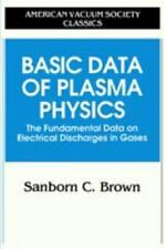 Basic Data of Plasma Physics: The Fundamental Data on Electrical Discharges in