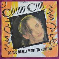 "Culture Club – Do You Really Want To Hurt Me 7"" – VS612 – Ex"