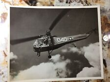 USCG Coast Guard Sikorsky HNS-1 Hoverfly Helicopter Aircraft Photo #882