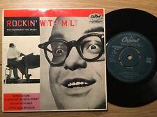 "VINYL SINGLE 7""RECORD EP PICTURE COVER ROCKIN WITH MILT BUCKANER ORGAN RARE"