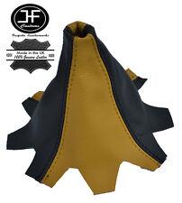 gelb Schwarz Leder Schaltmanschette passen VW T5 MULTIVAN CARAVELLE Schaltsack