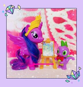 ❤️My Little Pony The Movie Friendship Lesson Twilight Sparkle and Spike Dragon❤️