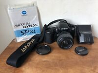 Minolta Maxxum SP XI SpXi 35mm SLR Film Camera With A mount AF zoom lens