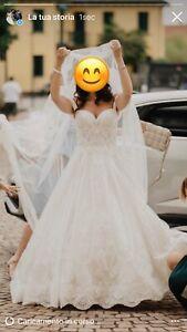 Stupendo abito da sposa Rosa Clara modello Cielo