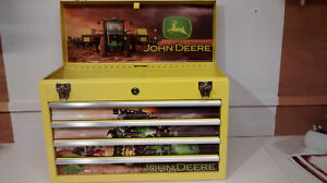 John Deere themed and created specialist 4 drawer metal toolbox
