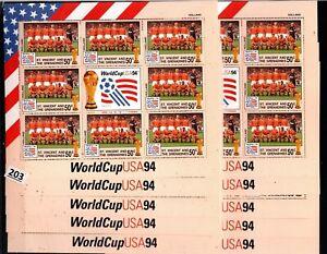 /// 10X ST. VINCENT 1994 - MNH - SOCCER - USA