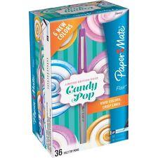 Paper Mate Felt Tip Pen Fine Pt 36/PK Candy Pop Ast 1984557