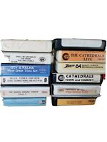 12 Country Gospel 1970s 8 Track Tapes: The Cathedrals, The Lewis Family Vintage