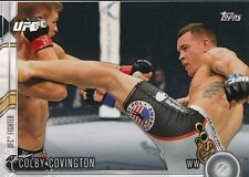 #250 COLBY COVINGTON 2015 Topps UFC Chronicles RC