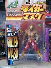 Tiger Mask Golden Mask No. 7 Action Figure Xebec toys Kaiyodo Uomo Tigre new!!