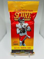 2021 Panini Score NFL Football 40 Card Value Cello Fat Pack Brand New Sealed