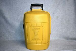 1979 Vtg Coleman Mustard Yellow Lantern Carrying Hard Case dtd. 3/ 79