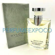BVLGARI pour Homme 3.4.oz 100ml After Shave Lotion Rare VINTAGE (BD37