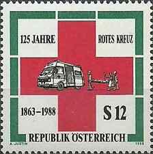 Timbre Santé Médecine Croix Rouge Autriche 1750 ** lot 11443