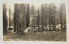 Bungalow Cabins Giant Forest 1926 Two Cents - USA Postcard AK Postkarte (A2420)